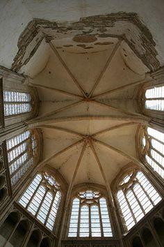 Choir Vault Photograph - Choir Vault Fine Art Print - Christiane Schulze