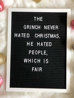 13 Christmas Letter Board Quote Ideas | Such A Sweetheart