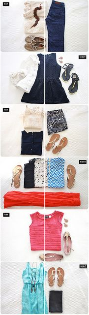 vacation outfits  packing tips: how to pack for 2 weeks in one carryon. one day!