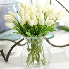 31 pcs. Artificial Tulip Flowers Bouquet – Nearest Gift Shop  Artificial Tulip Flowers Bouquet -    Realistic silk flower tulips looks so natural, they add brightness and cheer to your home without ever dying! These are great decorations that have vibrantly colored, looks real-like.   #easter #easterdecorations #roomdesign #roomdecor #roomideas #roominspiration #pink #fashion #style #homedecor #livingroom #livingroomideas #homedecor #homestyle #tulips #flowers #white