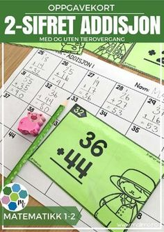 Oppgavekort er veldig kjekke oppgaver som kan brukes sammen med hele klassen, i sm grupper p stasjoner eller som individuelt arbeid. Felles retting er fint, eventuelt kan elevene bytte svarark eller sammenligne med en venn. Du kan i tillegg bruke kortene til arbeid med muntlig matematikk, enten p lrerstyrt stasjon eller i par og gruppe. $4.00