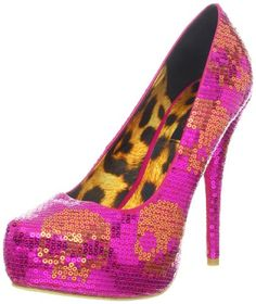 1e297e51d1 Iron Fist Women s Digi Skull Sequin Platform Pump