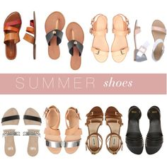 summer shoes by hannahbaker86 on Polyvore featuring Zara, ASOS, Dune, Faith, Gap, Carlo Pazolini and Joie