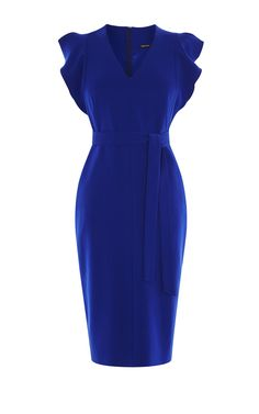 Discover women's clothing for work, weekend or special occasions. Shop Karen Millen's new collection of dresses, coats and tailoring for women now. Ruffle Sleeve Dress, Long Sleeve Midi Dress, Maxi Dress With Sleeves, Casual Dresses, Fashion Dresses, Dresses For Work, Girl Fashion, Frilly Dresses, Karen Millen