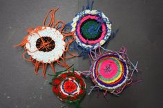 Weave Art by Elem students