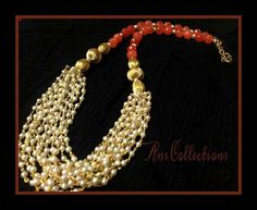 Fancy Jewellery, Jewelry, Pearl Necklace, Pearls, Fashion, Pretty, String Of Pearls, Moda, Jewlery