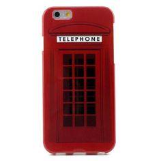 Coque iPhone 6 Cabine Téléphonique Anglaise