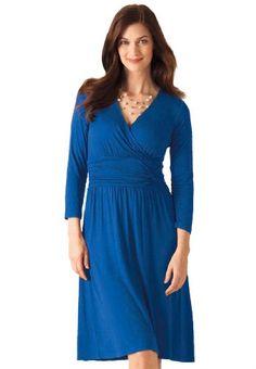 Chelsea Studio Women's Dress, Wrap In Knit - Listing price: $70.97 Now: $45.97