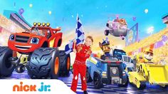 PAW Patrol & Blaze   The Fast & the Furriest   Fridays in April @ 12pm  ...
