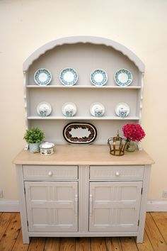LAura Ashley Dove Grey Painted In Priory Dresser