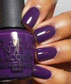 Enamel Girl: OPI Euro Centrale Collection Spring Summer 2013 - Swatches and Review  Vant to bite my neck?