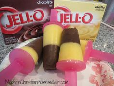 Jell-o Pudding Popsicles – A Perfect Summer Treat