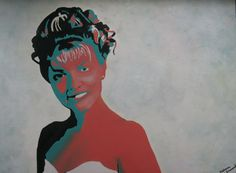 """""""Laura Palmer"""" from Twin Peaks. Oil painting"""