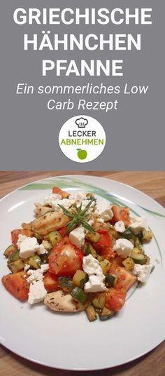Die griechische Hähnchen Pfanne mit Feta ist ein leckeres Low Carb Rezept, welches sich perfekt für den Sommer eignet. Zusätzlich dazu ist dieses Gericht auch sehr eiweißreich und eignet sich somit bestens zum Abnehmen.