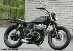 Racing Cafè: Yamaha SR 400 Estoy Contento by Bike Garage Thruxton