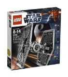 $45.94 From Amazon - Why we love the Lego Star Wars TIE Fighter Lego Star Wars starfighter model Two firing flick missiles Opening cockpit Comes with TIE fighter pilot, Imperial officer, Death Star trooper and R5-J2 droid minifigures.  Any AMAZON products - just click to go to their secure site.