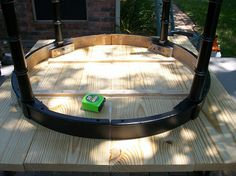 DIY Project How to make a cheap solid wood table top out of inexpensive lumber.