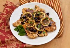 Italian Food Forever » Chicken Scallopini With Lemons And Olives
