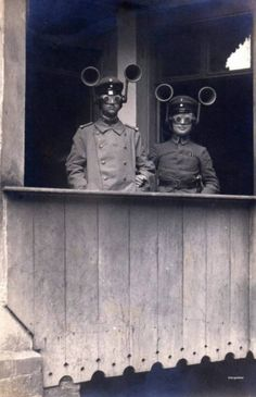 """World War I """"Sound Finders"""" used to detect which direction enemy planes were approaching from. 1914 - 40 Unusual Vintage Photos That Show Just How Weird We Have Always Been Christopher Robin, Old Pictures, Old Photos, Weird Pictures, Rare Photos, Black White Photos, Black And White, Rare Historical Photos, World War One"""