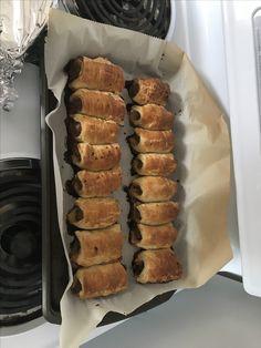 Home made sausage rolls. I miss Australia! Home Made Sausage, Aussie Food, Sausage Rolls, Australia, Homemade, Foods, Meat, Food Food, Food Items