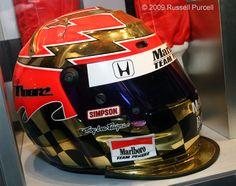 #Indycar Greg #Moore - 2000 Season Team Marlboro #Penske Helmet