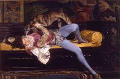Giovanni Boldini - Giochi con il levriero http://www.ottocentoelegante.it/it/le_opere_e_il_percorso.php