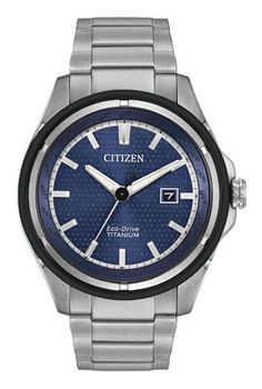 Siemer Jewelers Citizen Citizen Eco-Drive Ti+IP AW1450-89L Ti+IP