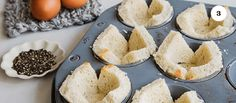 Learn how to make these baked eggs in bread baskets with Paul Lowe brought to you by Mrs. Meyer's Clean Day.