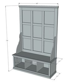 Free Plans To Build A Hall Tree Simple Step By Step Plans