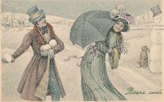 Vintage christmas/winter