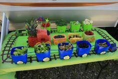 Fruit and Veggie train cars