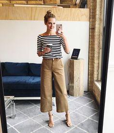 how to wear wide-leg crop pants (scheduled via http://www.tailwindapp.com?utm_source=pinterest&utm_medium=twpin)