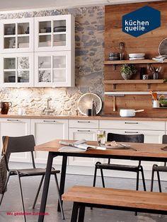 Die Zeitlose Classica 2330 Sorgt Für Ein Gemütliches Zuhause! Der Rustikale  Landhausstil Im Kombinierten Weißen