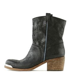 OXS   Stiefelette 4432 Black Women   Rossi&Co #women #fashion #boots #oxs #italian #madeinitaly #bootsforwomen #designer #brown #leather #love #online #sale #present #ideas #gift #girlfriend #cognac #cool #outlet #ankleboots #heels #rossiundco