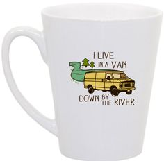 Matt Foley SNL I live in a van down by the river by perksofaurora, $16.00