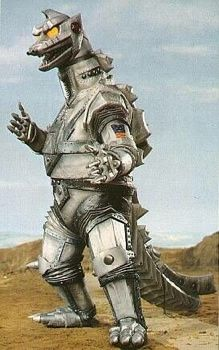 Mechagodzilla is Godzilla's mechanical doppelgänger from various Godzilla movies. The original Mechagodzilla was created as a weapon of destruction by the Simians.