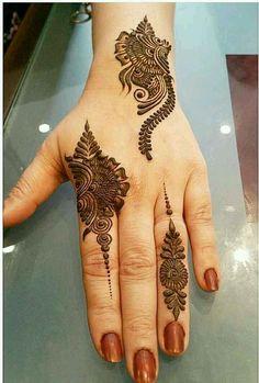 versatile ideas of mehndi and henna designs for better hands' look in 2019 - - Henna - Henna Designs Hand Henna Hand Designs, Eid Mehndi Designs, Short Mehndi Design, Latest Simple Mehndi Designs, Mehndi Designs Finger, Modern Mehndi Designs, Mehndi Designs For Fingers, Mehndi Design Images, Beautiful Henna Designs