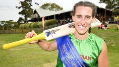 Sydney runner Elly Graf made history on Saturday at Cricket Willow by becoming the first woman to win the Daylesford Gift in its history. Sports Massage Therapist, Daylesford, History Photos, Cricket, Athlete, How To Make, Women, Historical Pictures, Women's