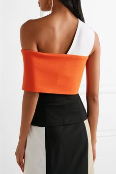 GABRIELLE'S AMAZING FANTASY CLOSET | Rosetta Getty's Color Block Two-Piece Outfit (Back View) You can see the Front View and the rest of the Outfit and my Remarks on this board. - Gabrielle