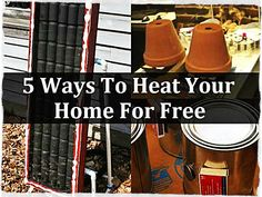 5 Ways To Heat Your Home For Free, diy, how to, frugal, homesteading, shtf, prepping, preparedness, stay warm, free,