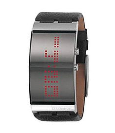 A cool digital LED bracelet wrist watch will bring a unique and special look. LED bracelet wrist watches combine quality, value, and style. Diesel Watches For Men, Big Watches, Luxury Watches, Cool Watches, Unique Watches, Beautiful Watches, Wrist Watches, Led Watch, Digital Watch