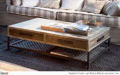 Hampton Cruise  - Riviera Maison - bankstellen - tafels - salontafels - bijzettafels