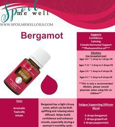 Bergamot Essential Oil, YL essential Oils, all natural living, dilution ratios