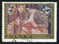 Poland Breastfeeding Postage Stamp