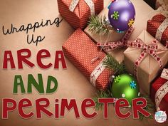 Diary of a Not So Wimpy Teacher: Wrapping Up Area & Perimeter- A FREE Holiday Activity**use birthday wrapping paper Christmas Activities, Math Activities, Math Games, Measurement Activities, Math Measurement, Winter Activities, Area Worksheets, 4th Grade Math, Third Grade