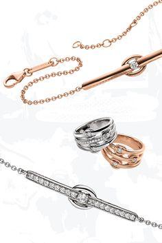 Zahlreiche glänzende Zirkonia Steine, eingelassen in hochwertige Sterling Silber Fassungen.