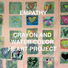 The Creative School Counselors: Got Empathy? My Many Colored Days and Art Project....