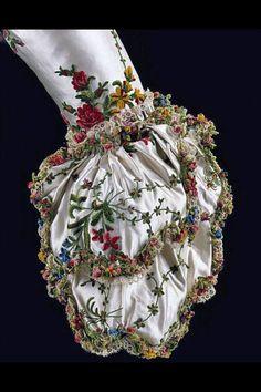 Marie Antoinette's detailed sleeve