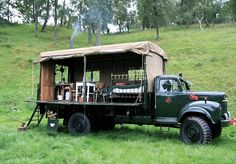 Vintage fire truck in Cairngorms has become Scotland's quirkiest ...