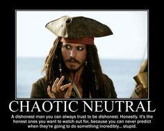 Jack Sparrow: totes C/N